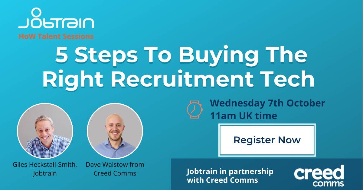 5 Steps to buying recruitment tech October webinar page v2