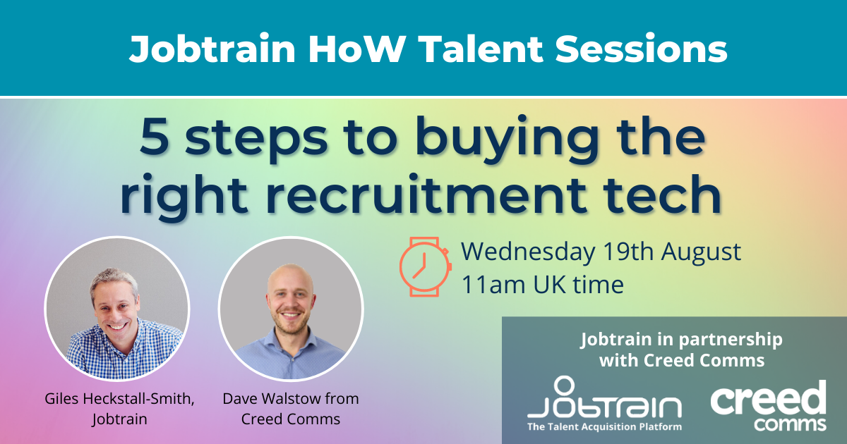 5 steps to buying the right recruitment tech