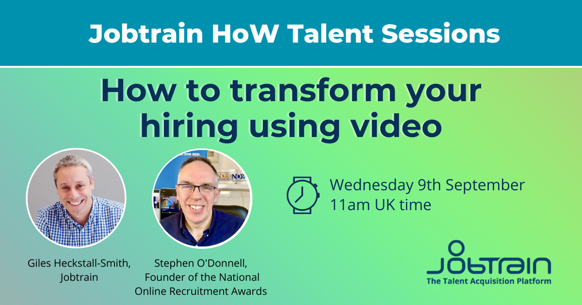 HOW webinar - How to transform your hiring with video