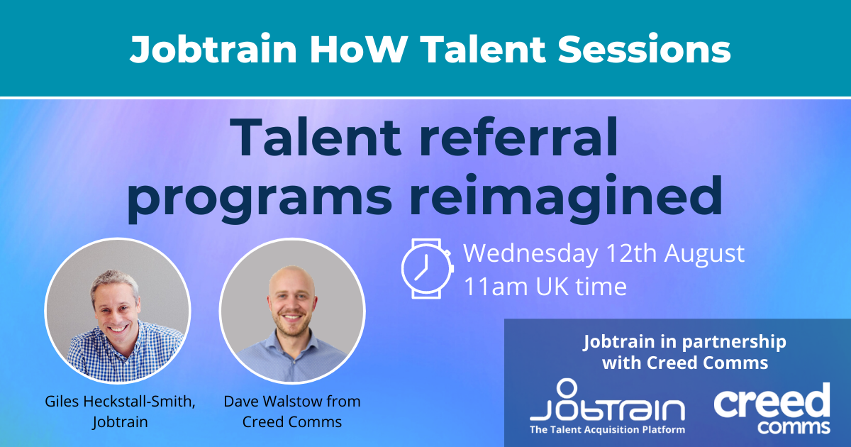 Talent Referral programs reimagined